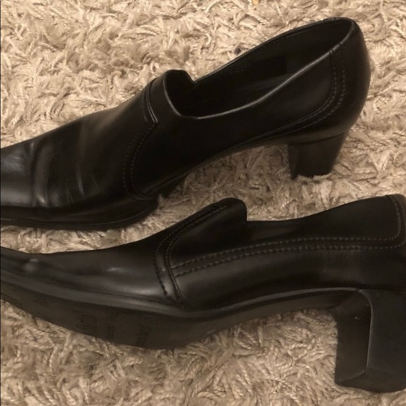 Black Shoes With 3inches heels